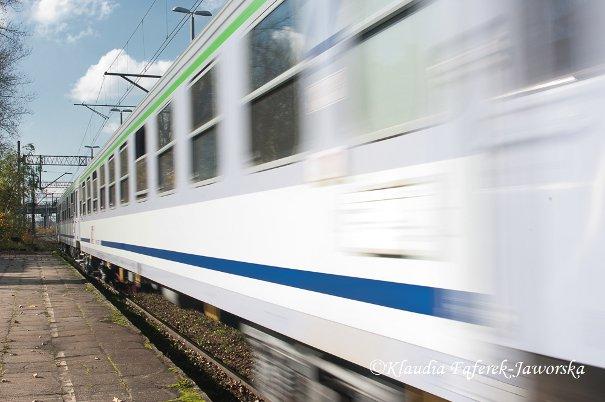 Elektrowóz pociągu relacji Wrocław - Lublin