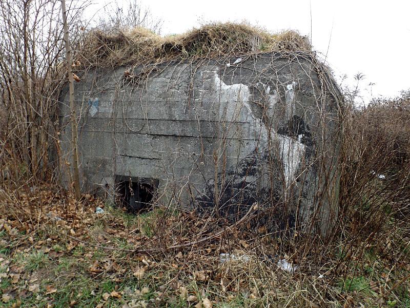 Obiekt nr 2, Schron bojowy, Bytom, ul. Krzyżowa