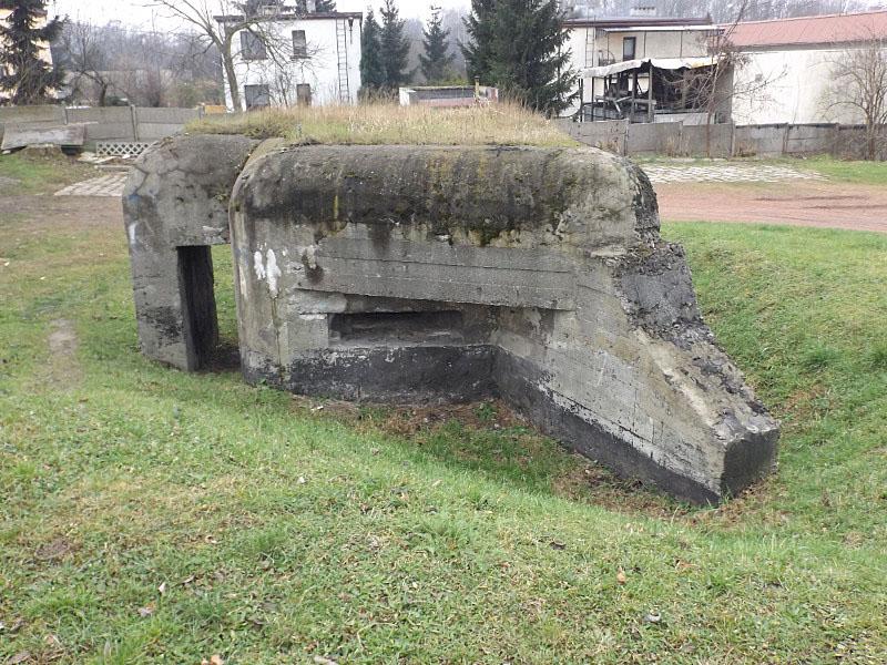 Obiekt nr 3, Polowy schron piechoty, Bytom, ul. Krzyżowa