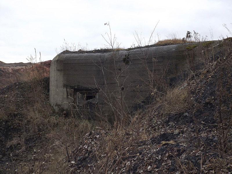 Obiekt nr 7, Schron bojowy wyposażony w kopułę pancerną, Bytom, ul. Kolonia Zygmunt