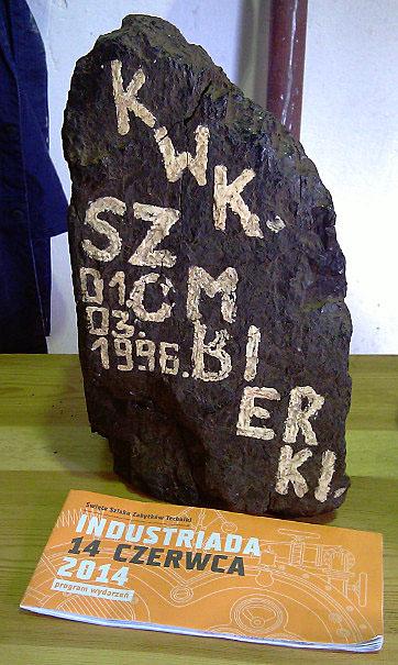 Industriada 2014 - Bytom, Ostatni kęs węgla KWK Szombierki (01-03-1996)