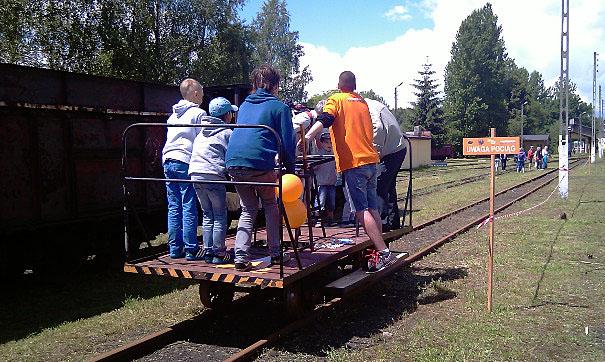Industriada 2014 - Bytom, Górnośląskie Koleje Wąskotorowe
