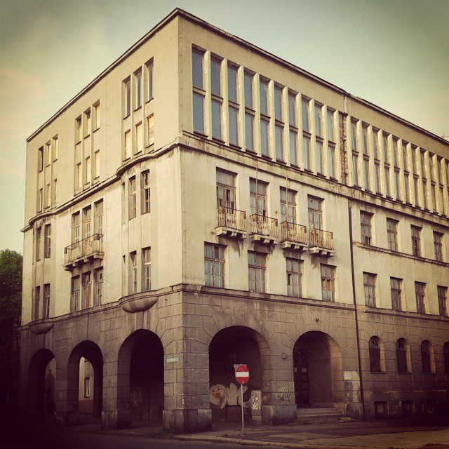 Bytom, budynek komitetu PZPR