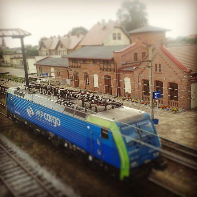 Radzionków, dworzec PKP