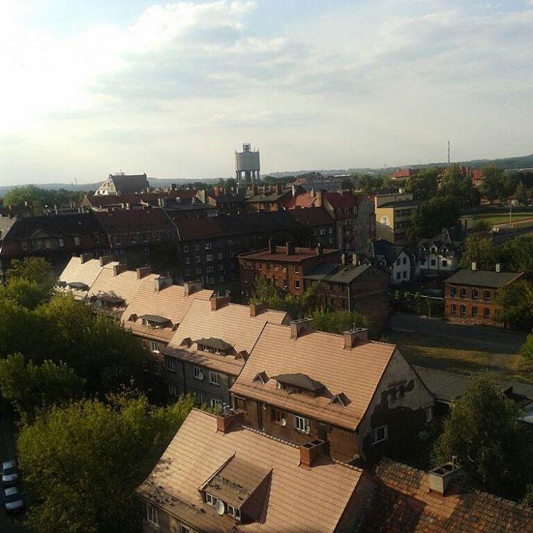 Bytom, panorama północne śródmieście