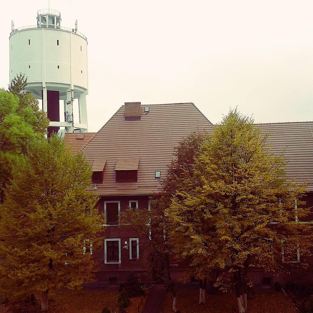 Bytom, wieża ciśnień przy ul. Oświęcimskiej