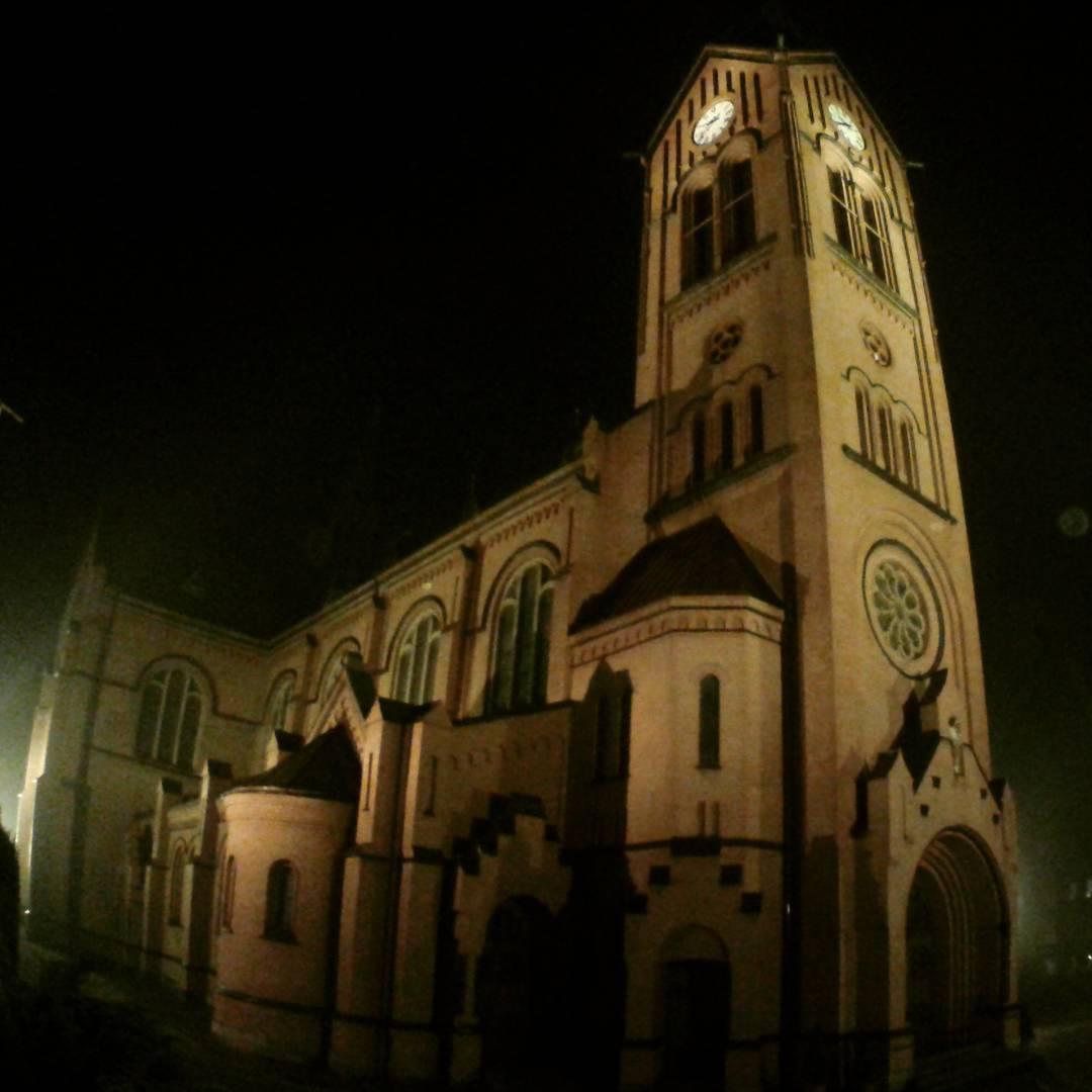 Bytom, Szombierki, kościół pw. Najświętszego Serca Pana Jezusa