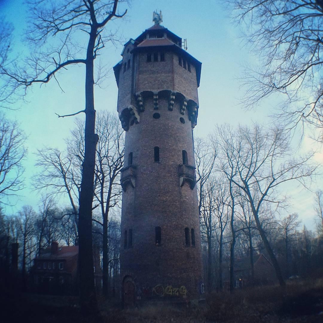 Katowice, Giszowiec, Wieża ciśnień