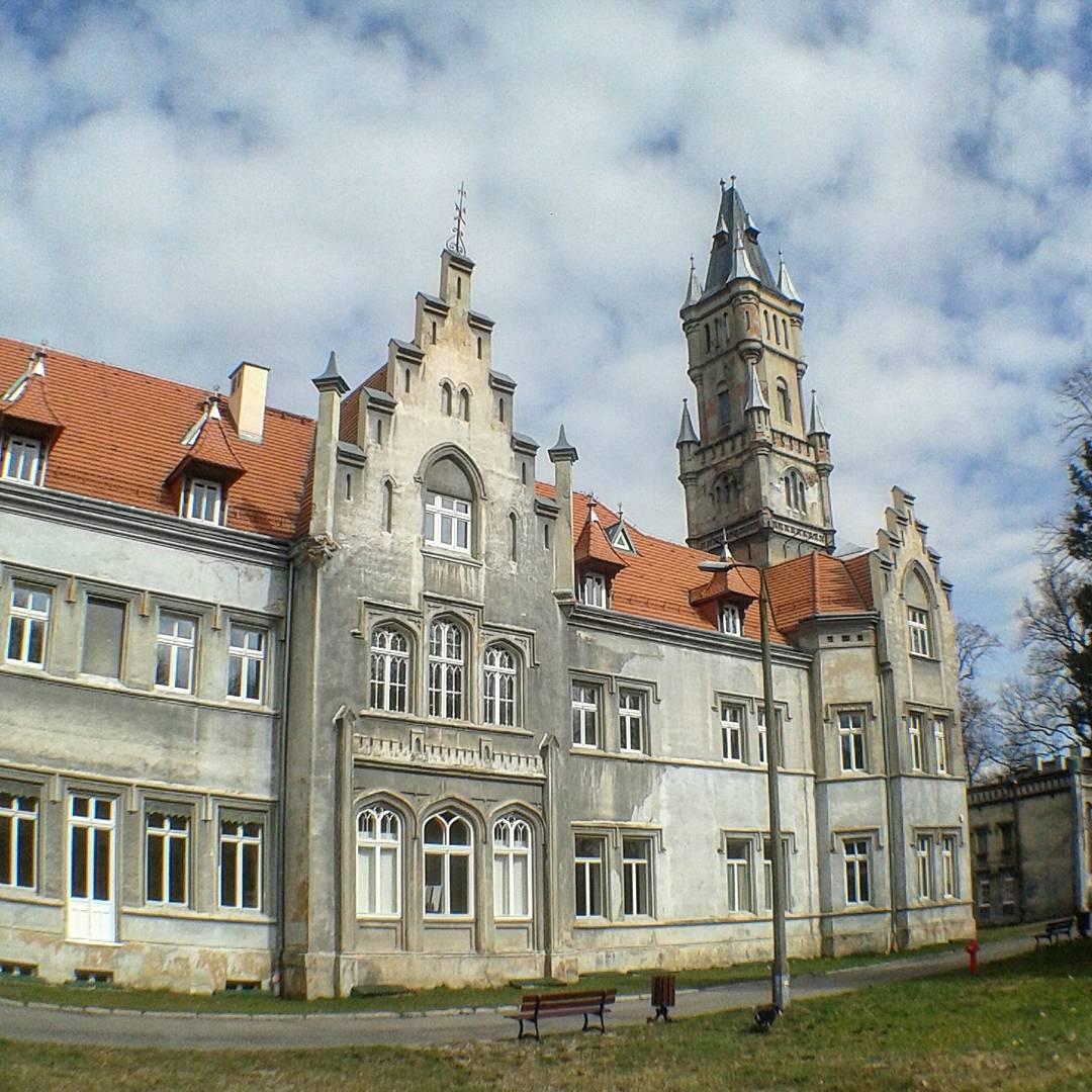 Nakło Śląskie, pałac