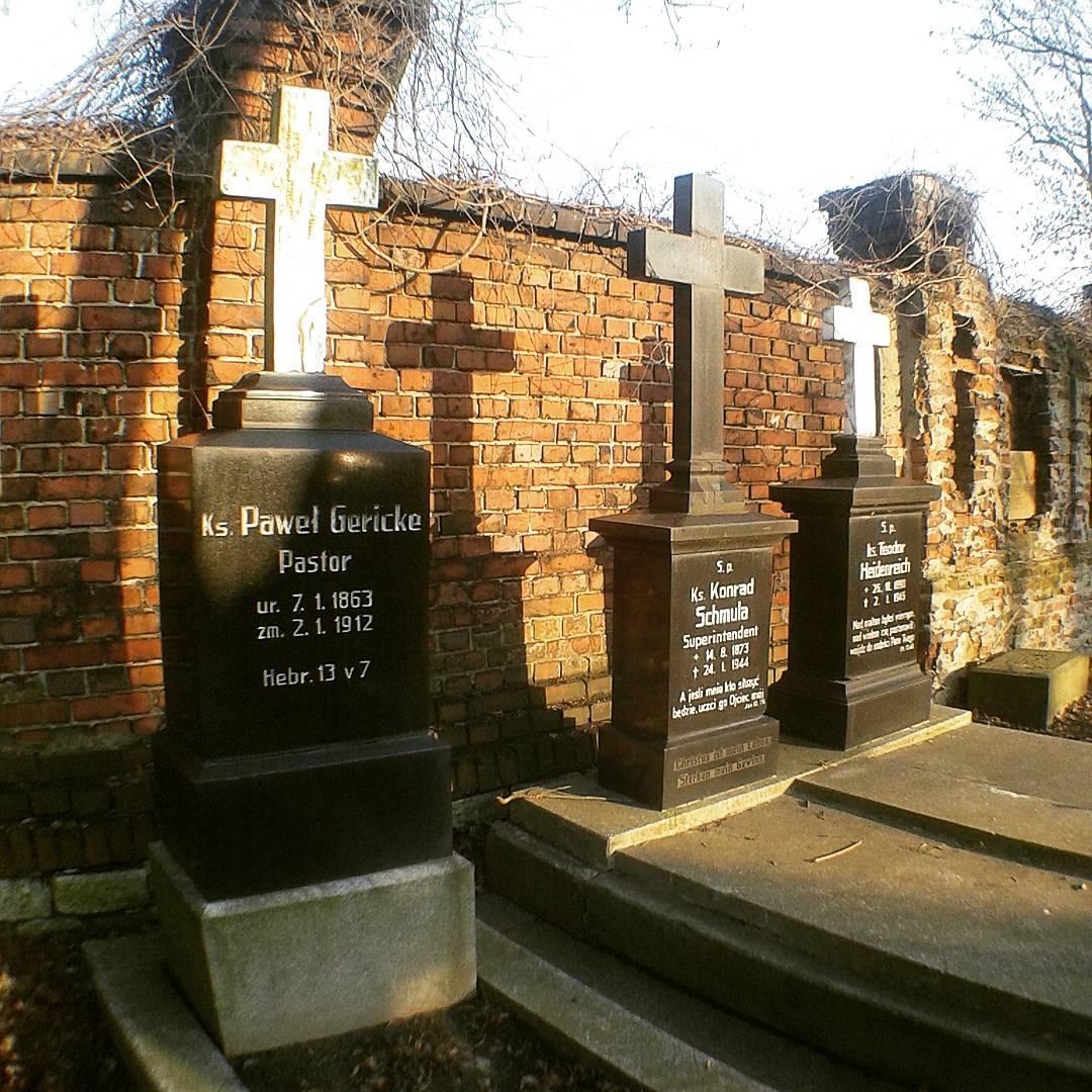 Bytom, cmentarz Ewangelicki