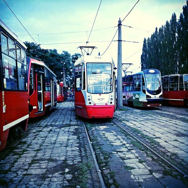 Zajezdnia tramwajowa na Stroszku w Bytomiu