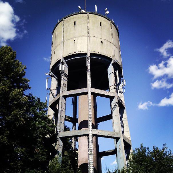 Wieża ciśnień na ul. Oświęcimskiej