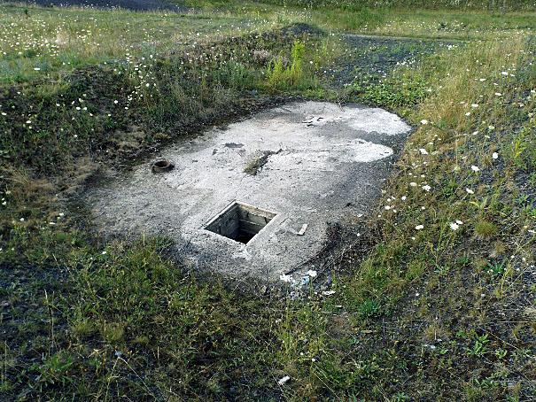 Dekiel nad szybem M I kopalni Miechowice w Bytom