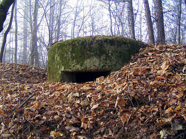 Kochbunkier - niemieckie pozostałości po II Wojnie Światowej