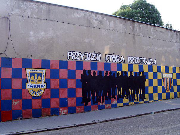 Graffiti, Bytom, Rozbark, ul. Szczęść Boże