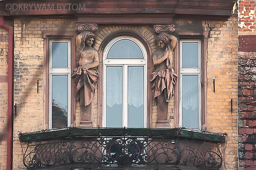 Bytom, balkon