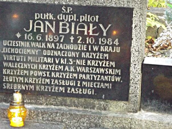 Płyta nagrobna na cmentarzu Mater Dolorosa