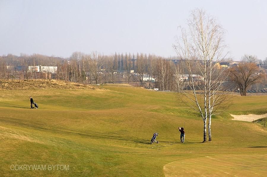 Szombierki - Pole golfowe